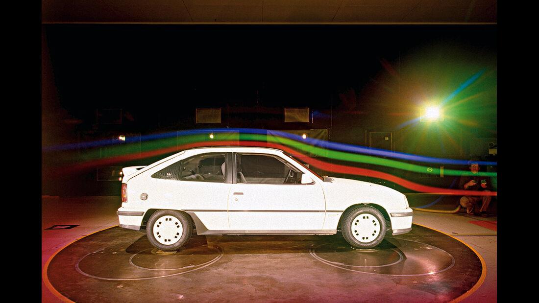 150 Jahre Opel Innovationen, Kadett Gsi Windkanal
