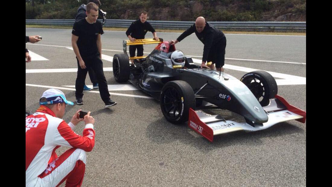 17 Zoll-Reifen - Test - Formel Renault 2.0 - 2015