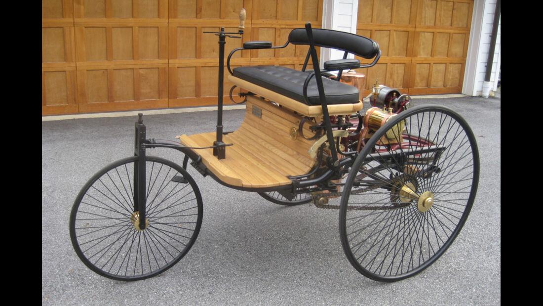 1886er Benz Patent Motor-Wagen Replica