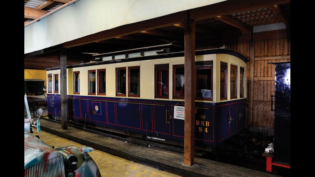 1890er Train Carriage Danish Royal Carriage - Waggon der königlichen Familie
