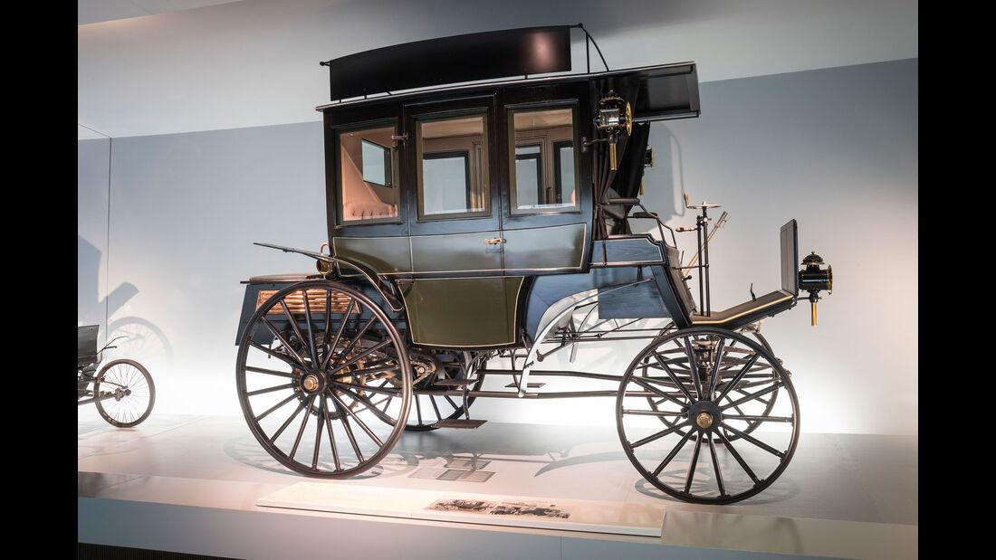 1895 Benz Omnibus - Mercedes-Museum