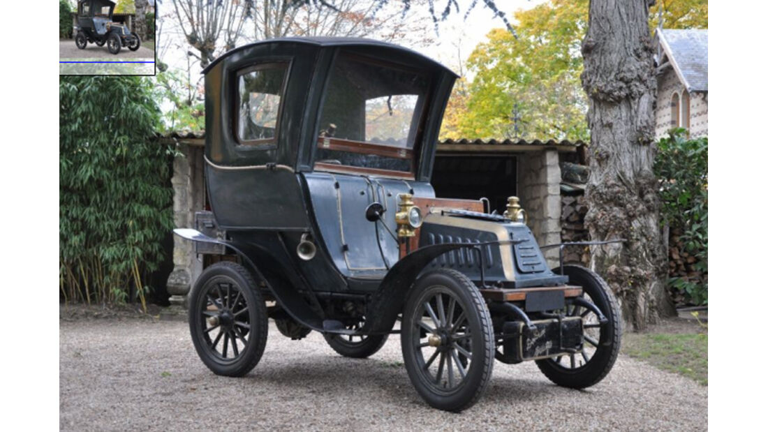 1902er De Dion Bouton Type K1