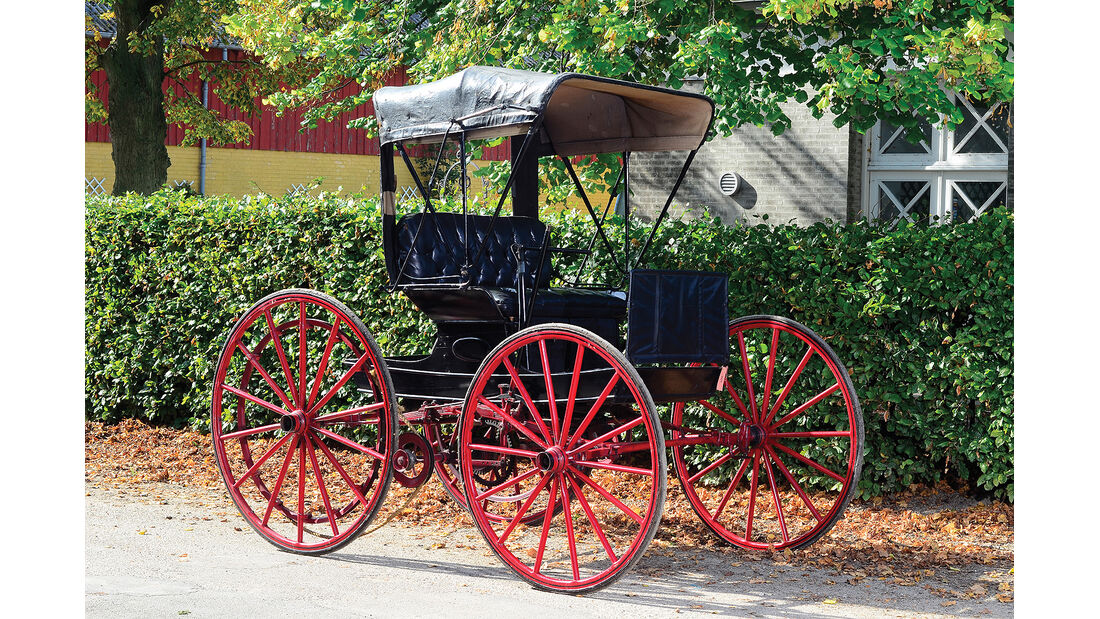 1902er Holsman High-Wheel Runabout