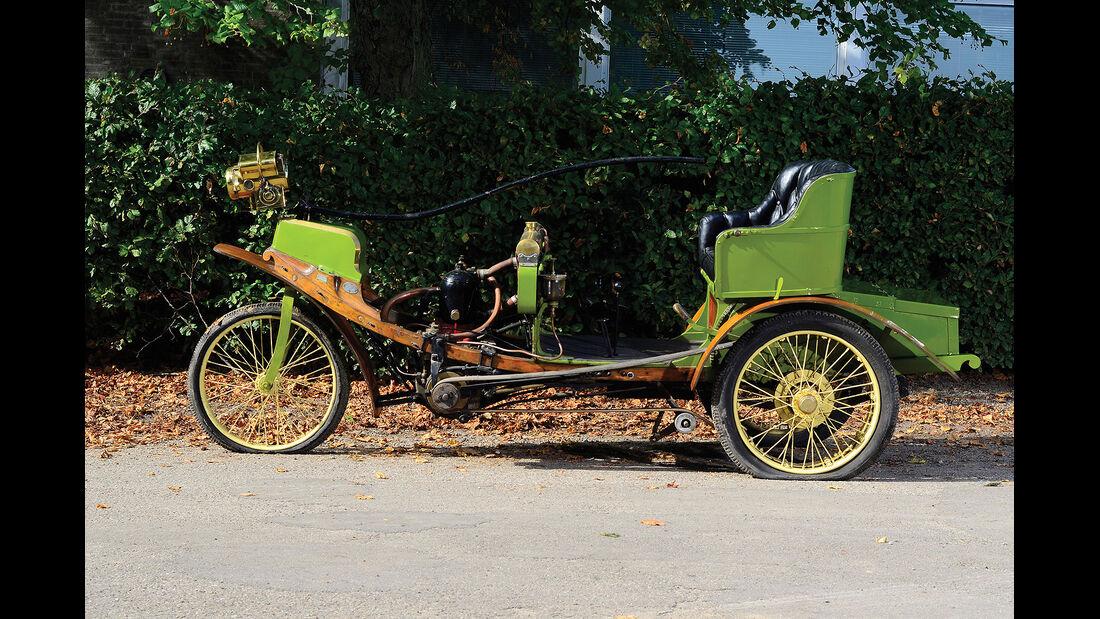 1902er Lacroix de Laville La Nef Tricycle