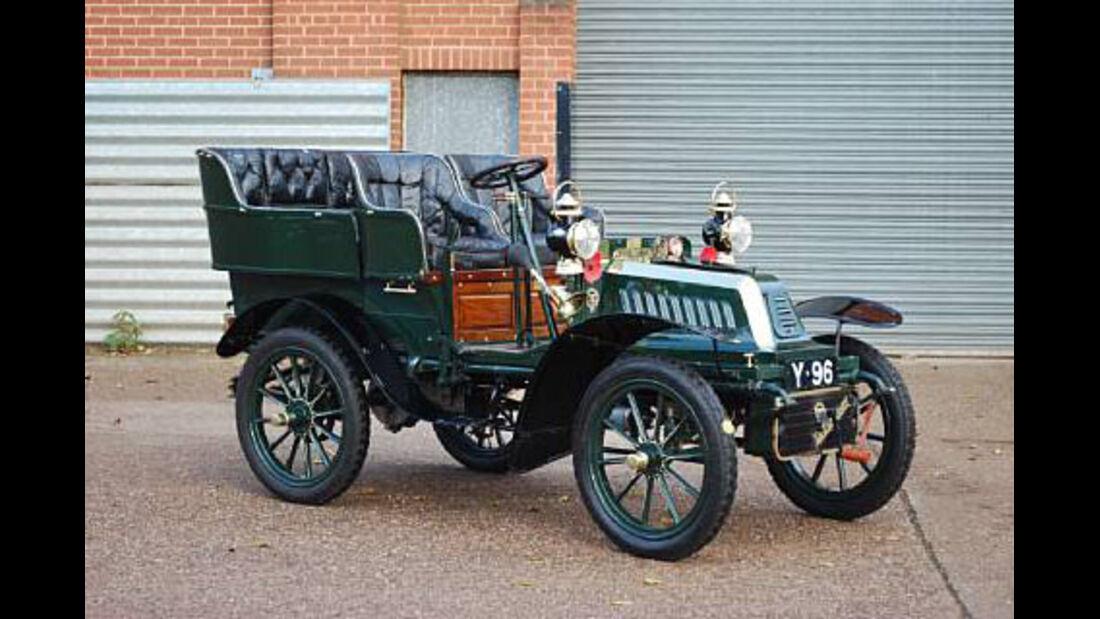 1904er De Dion Bouton 8hp Type V Rear Entrance Tonneau