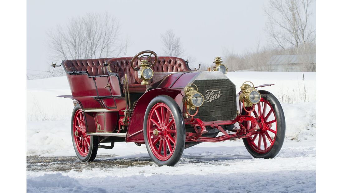1905 FIAT 60HP Five-Passenger Touring by Quinby & Co.