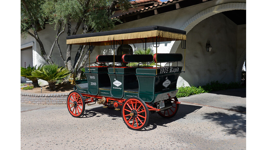 1905er Rapid Nine-Passenger Omnibus