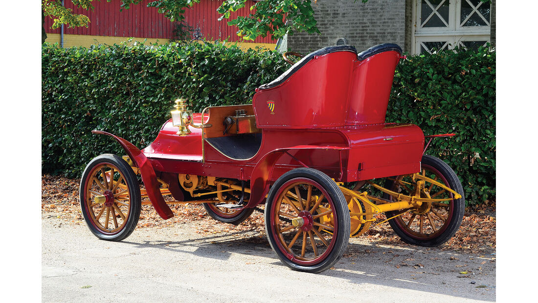 1906er Franklin Type E Runabout
