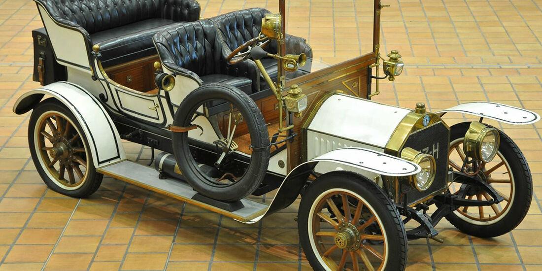 1907er Berliet C2 Double-phaéton