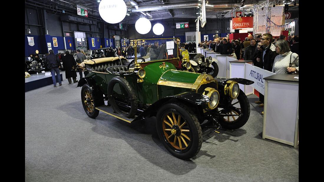 1908 Lorrain-Dietrich 12CV in Ausstellung