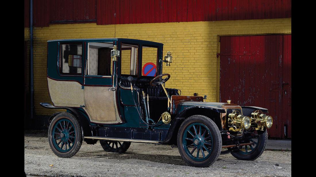 1908er Panhard & Levassor Type X1 Coupé Chauffeur