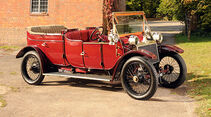 1912er Lanchester 38hp Detachable Top Open Drive Limousine