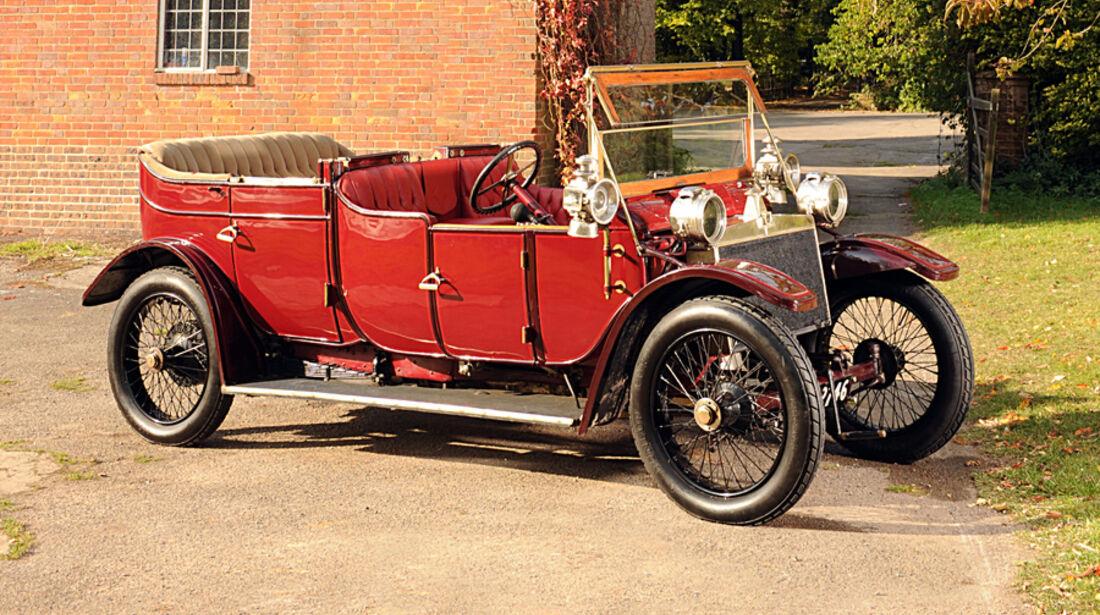 1912er Lanchester 38hp Detachable Top Open Drive Limousine