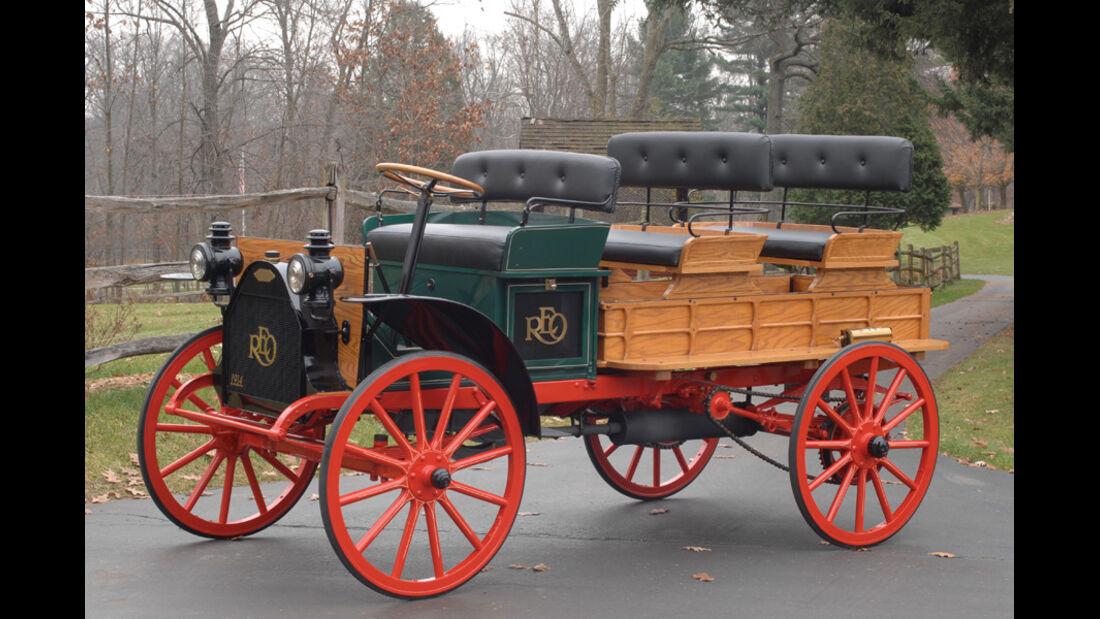 1914er REO Depot Truck