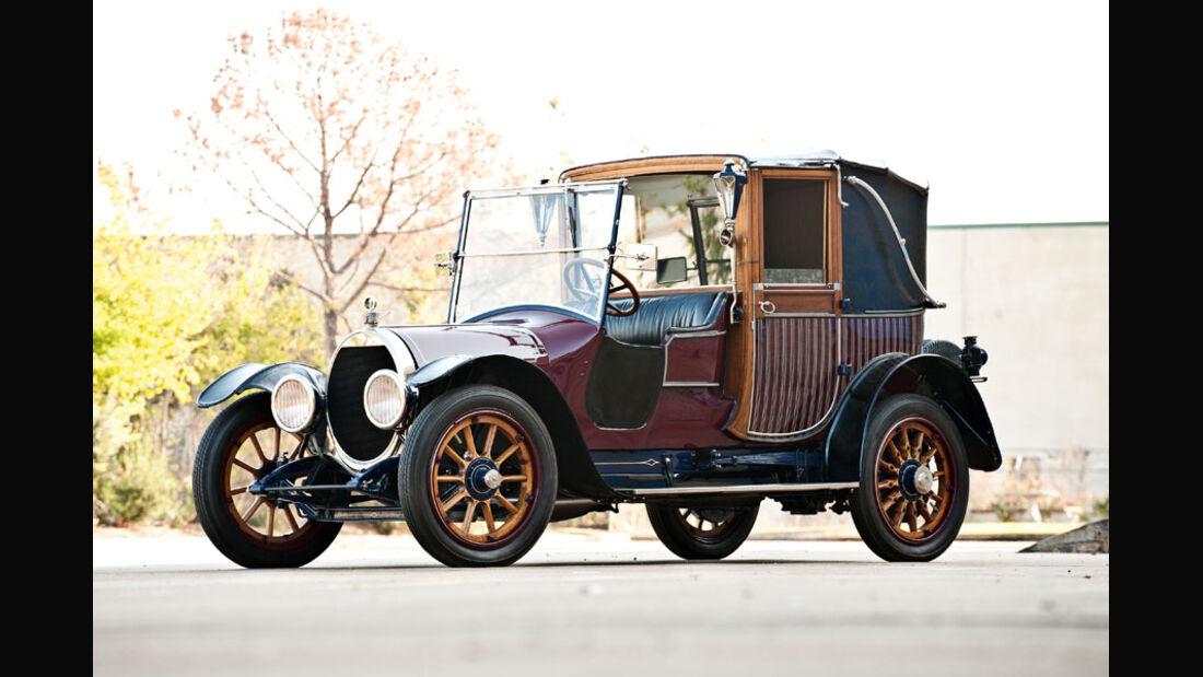 1915 Brewster-Knight Model 41 Landaulet