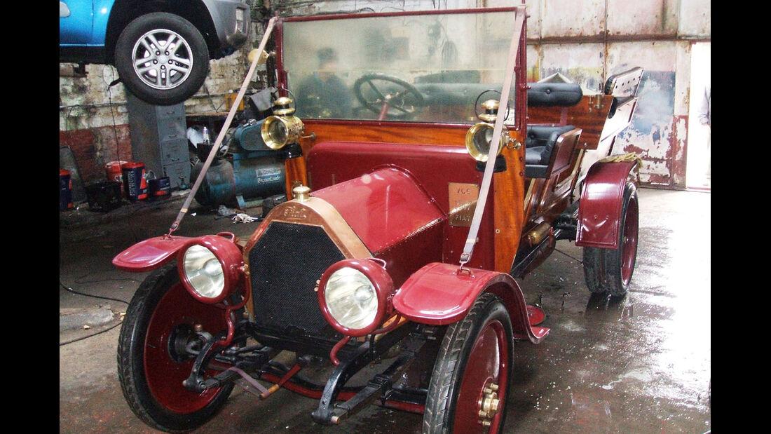1917 FIAT 15/20hp Tipo 2B Wagonette.
