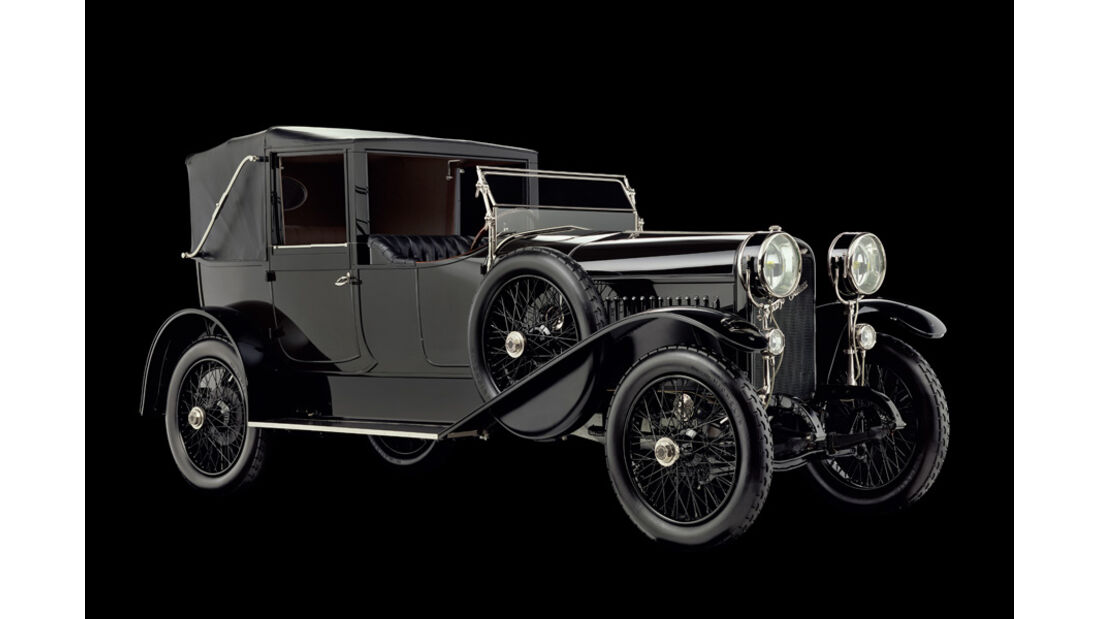 1918er Hispano-Suiza Type 32 Collapsible Brougham