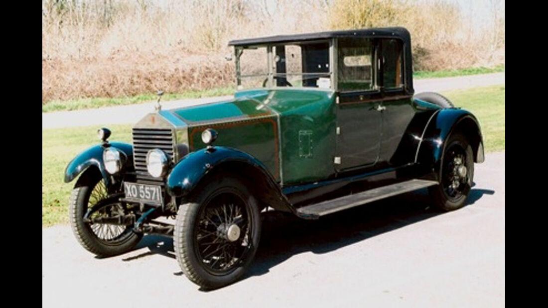 1923 Rolls-Royce 20hp Coupé.