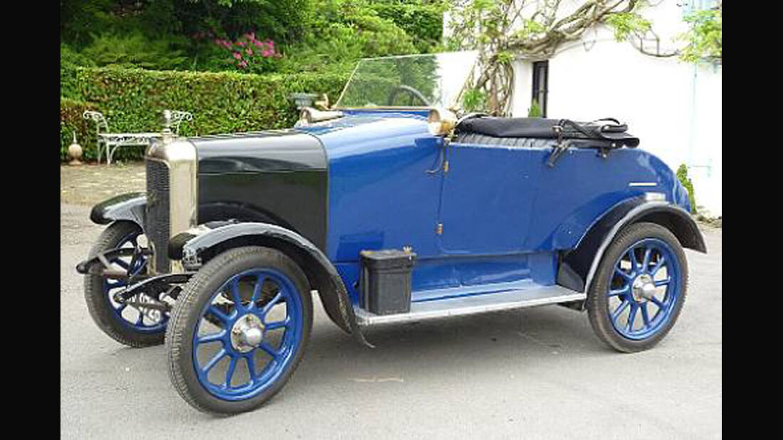 1924er Jowett 7hp Type C Two-seater with Dickey