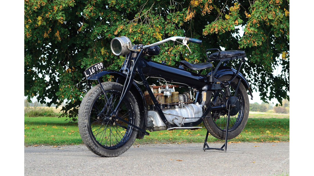 1924er Nimbus Motorcyle