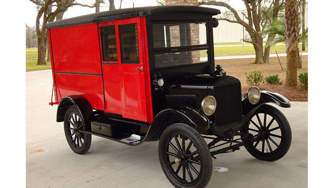 1926 Ford Model T Panel Delivery