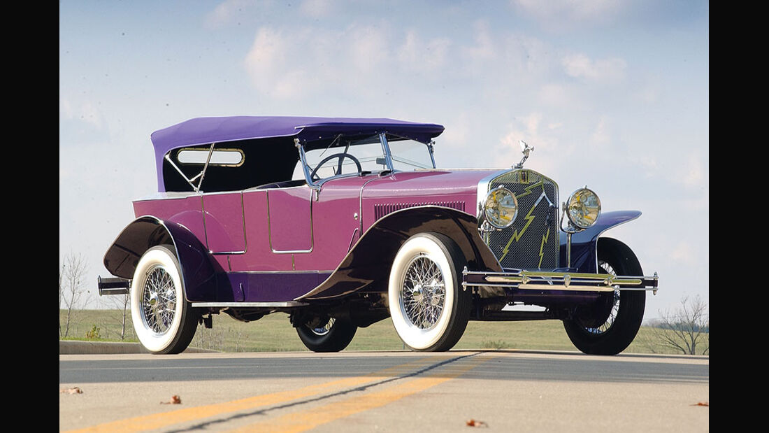 1927 Isotta-Fraschini Tipo 8A Boat-Tail Tourer