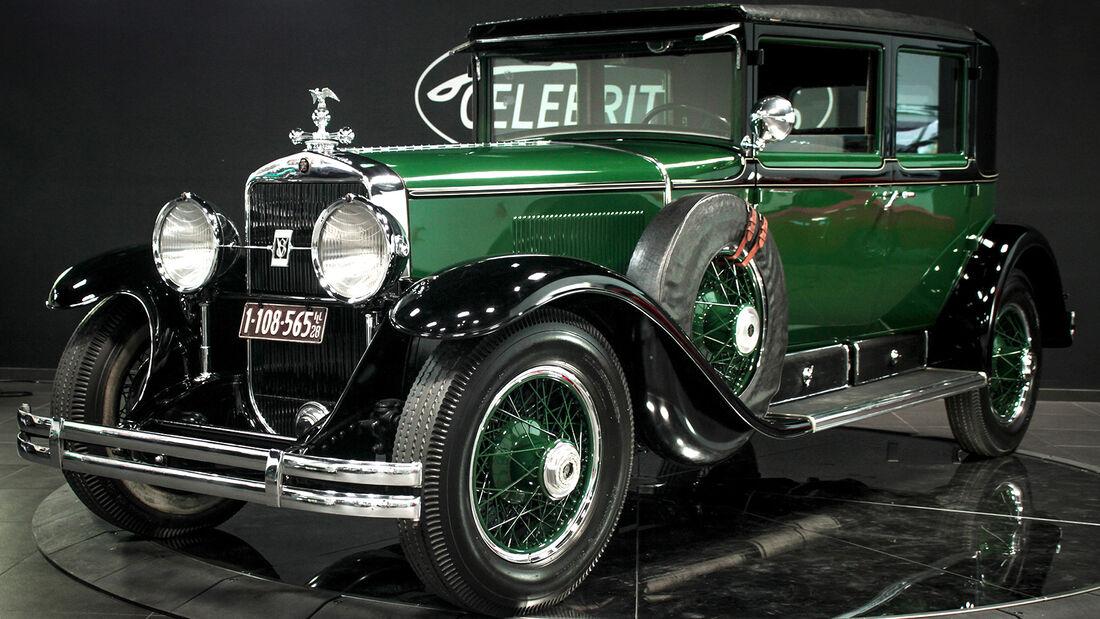 1928er Cadillac Al Capone's bulletproof Town Sedan