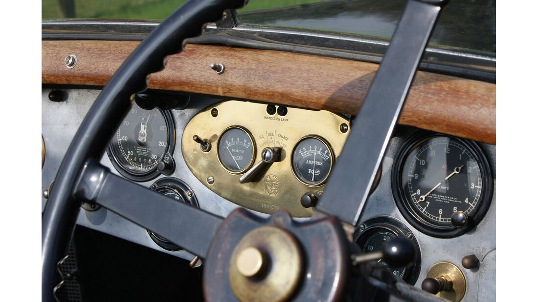 1928er Invicta 4 ½ High Chassis Tourer