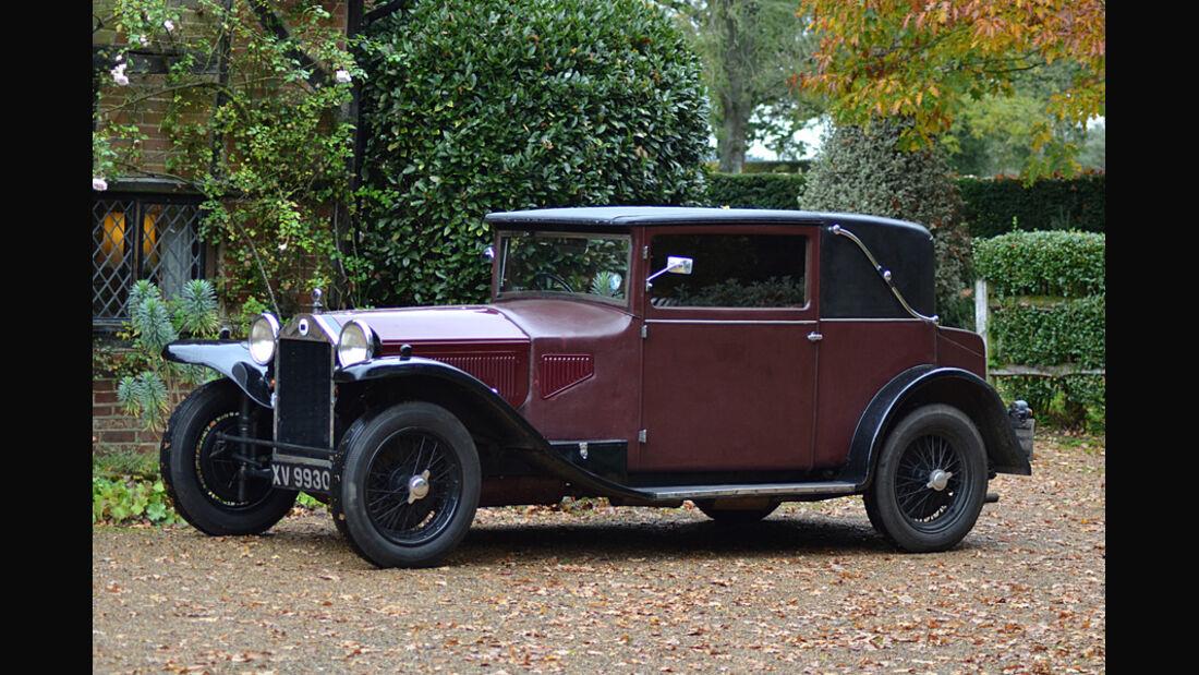 1928er Lancia Lambda 8th-Series Coupe