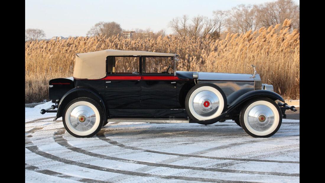 1928er Rolls-Royce Springfield Phantom I Newmarket Convertible Sedan