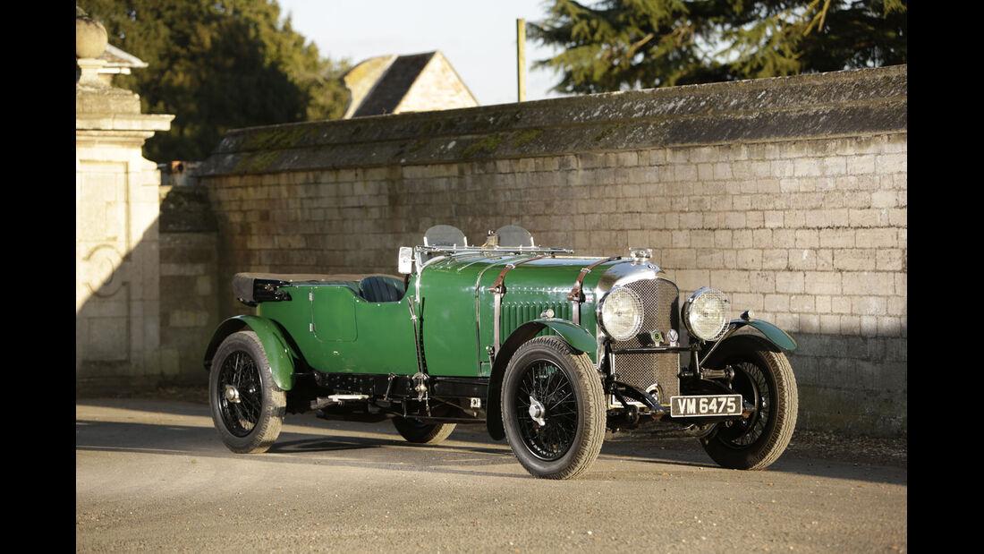 1929 Bentley 4½-Litre Tourer.