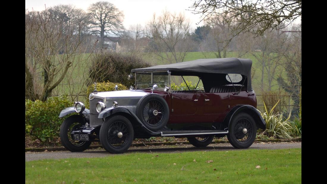 1929 Crossley 20.9hp Tourer.