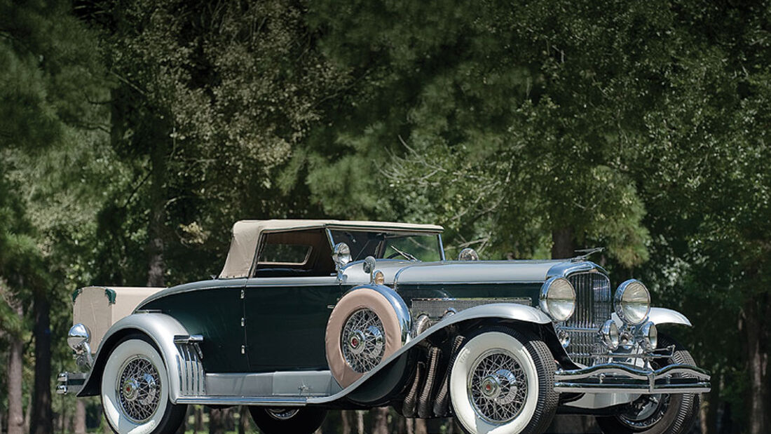1929 Duesenberg Model J Convertible Coupe
