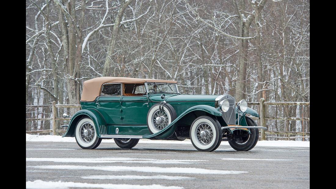 1929 Isotta Fraschini 8A Convertible Sedan by Floyd-Derham