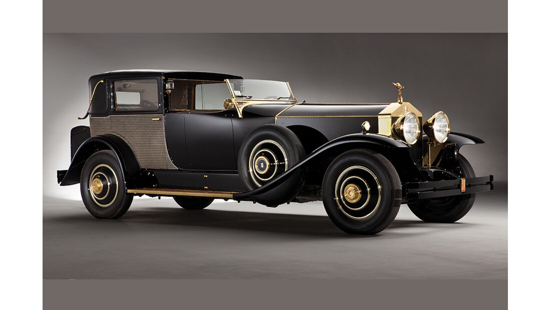 1929 Rolls-Royce Springfield Phantom I Riviera Town Brougham
