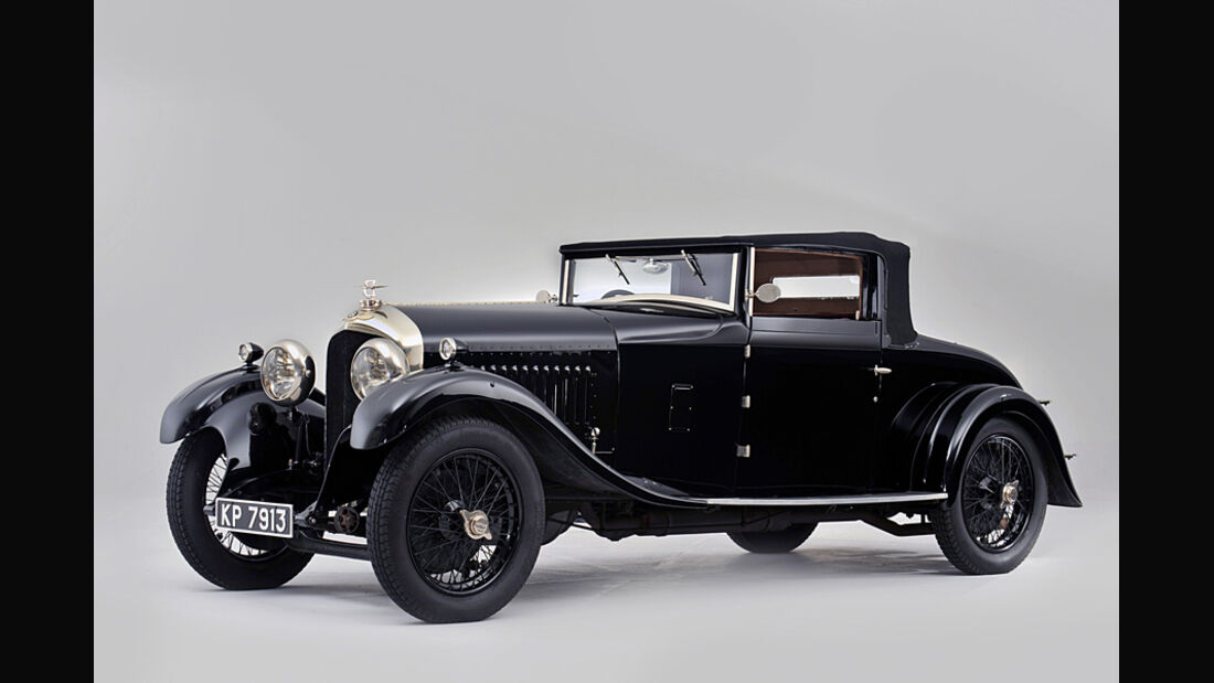 1929er Bentley 4½-Litre Drophead Coupé with Dickey