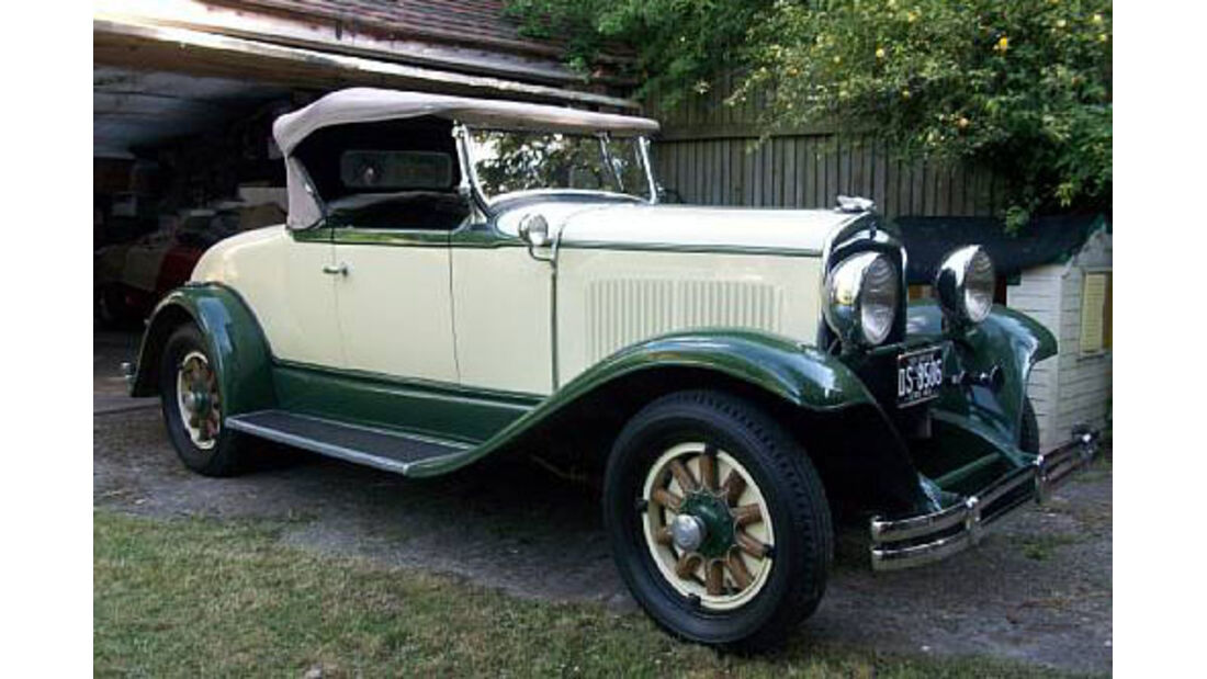 1929er Chrysler Series 65 Rumbleseat Roadster
