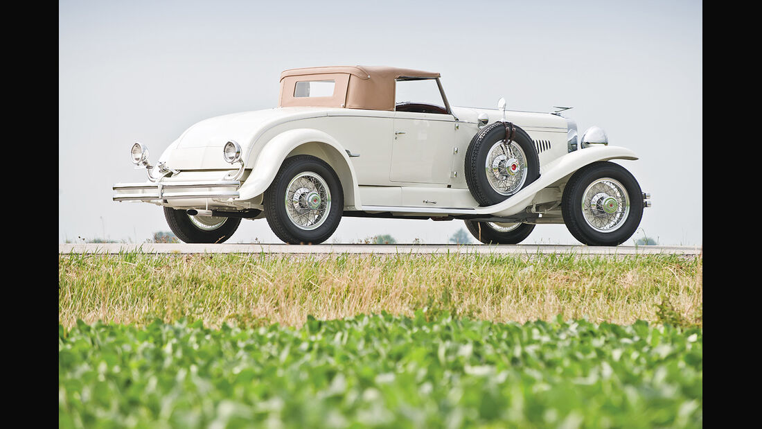 1929er Duesenberg Model J Disappearing Top Convertible Coupe by The Walter M. Murphy Co.