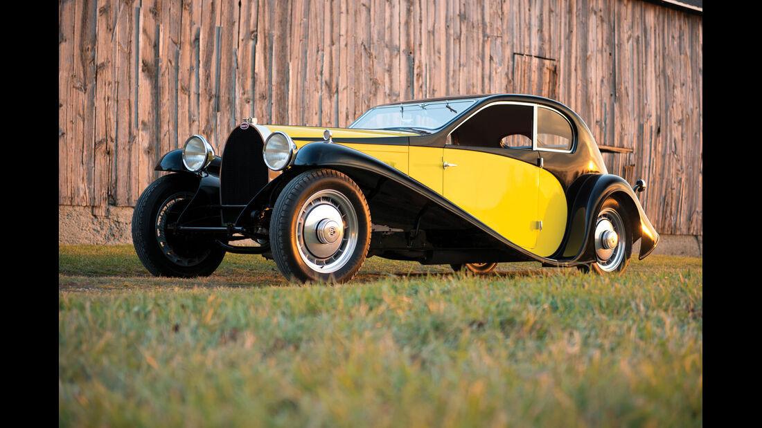1930 Bugatti Type 46 Coupé Superprofilée in the style of Jean Bugatti.