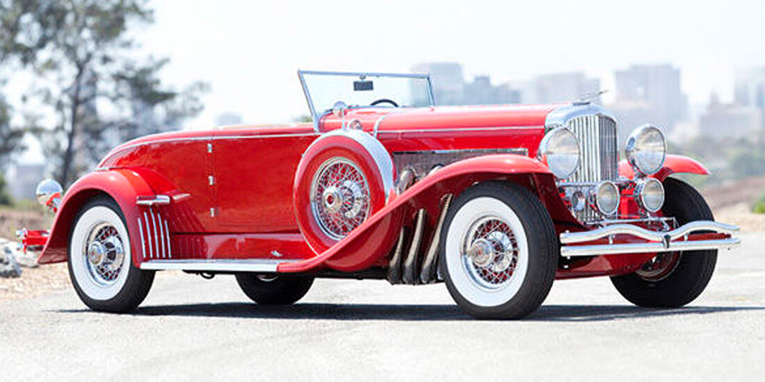 1930 Duesenberg Model J Disappearing-Top Convertible Coupe