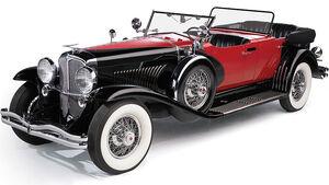 1930 Duesenberg Model J LWB Dual Cowl Phaeton