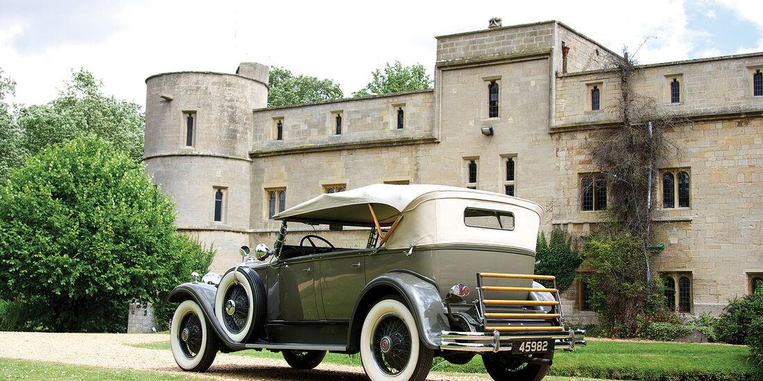 1930 Packad Standard Eight Phaeton