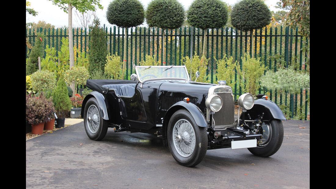 1930er Aston Martin International 1 ½ Litre Open Tourer,