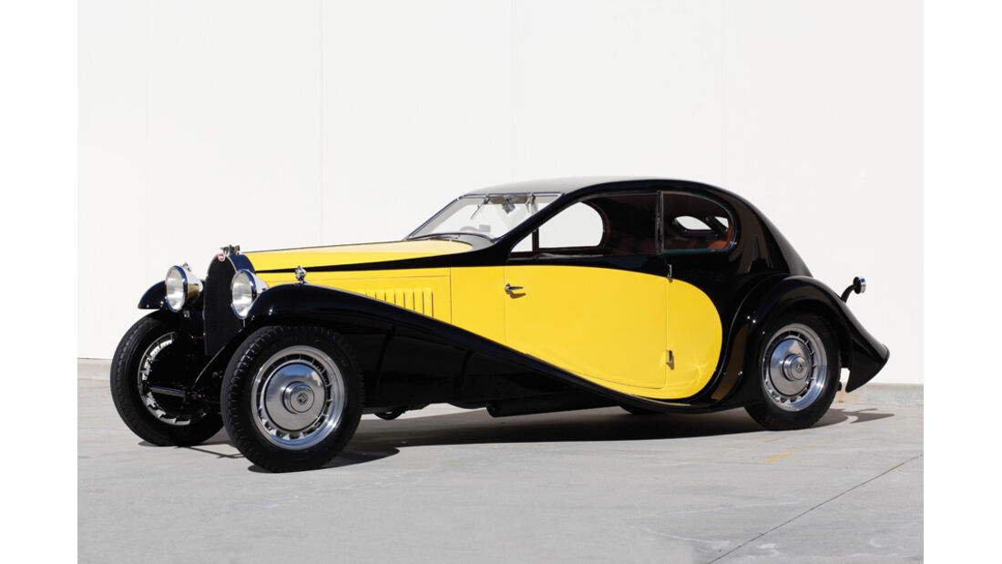 1930er Bugatti Type 46 Superprofile Coupe