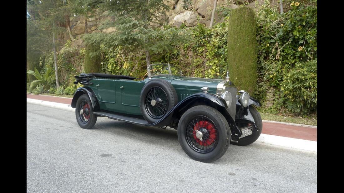 1930er Delage DR70 Tourer