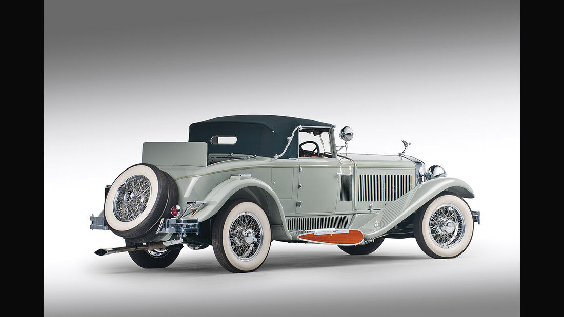 1930er Isotta-Fraschini Tipo 8AS Boattail Cabriolet by Carrozzeria Castagna