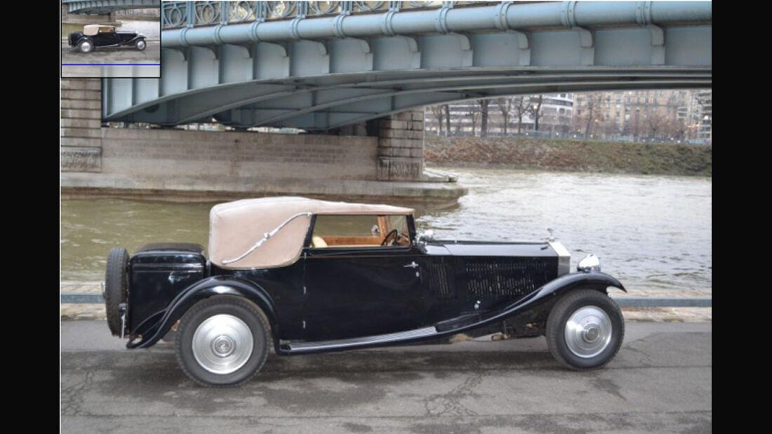 1930er Rolls Royce Phantom II Continental Cabriolet