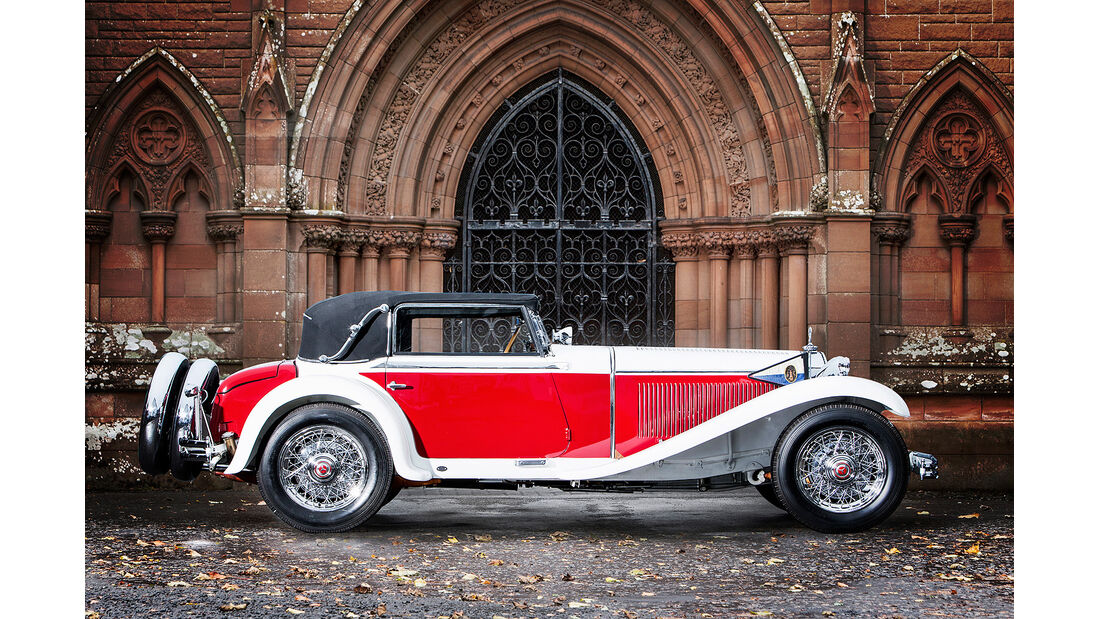 1931 Mercedes-Benz 15/75 PS Mannheim 370 S Roadster
