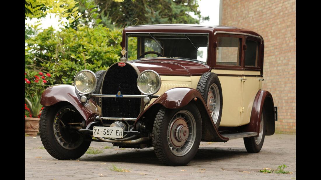 1931er Bugatti Type 49 Saloon