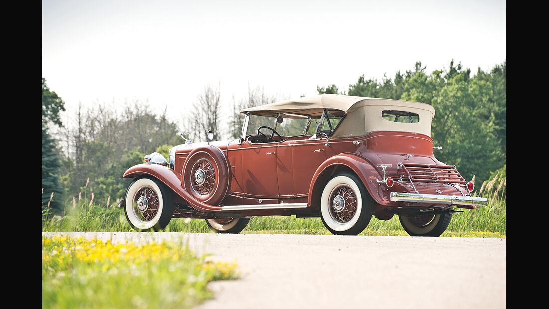 1931er Cadillac Series 452 V-16 Special Dual Cowl Phaeton by Fleetwood